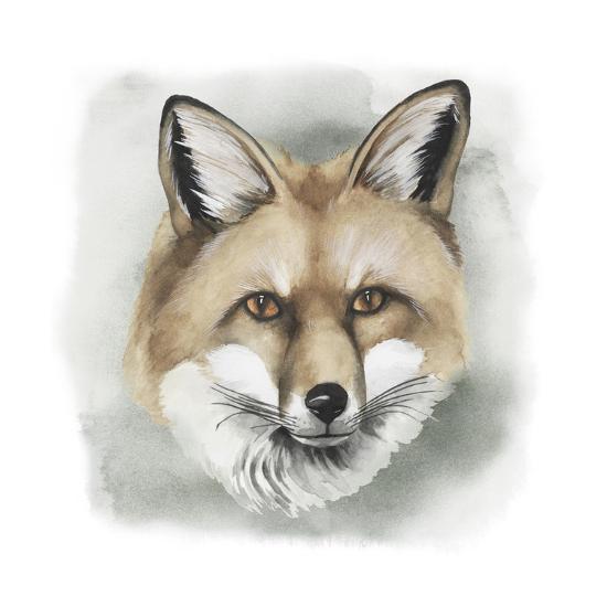 Greenwood Animals I-Grace Popp-Art Print