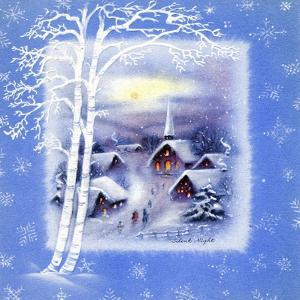Greeting Card - Churches, Silent Night, National Museum of American History