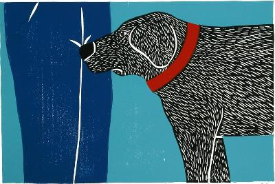 Greeting Visitors Bad Dog-Stephen Huneck-Giclee Print