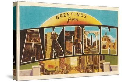 Greetings from Akron, Ohio