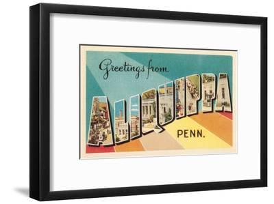 Greetings from Aliquippa, Pennsylvania