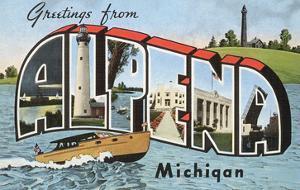 Greetings from Alpena, Michigan