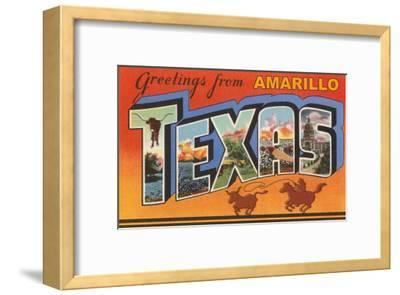 Greetings from Amarillo, Texas