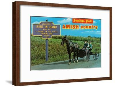 Greetings from Amish Country