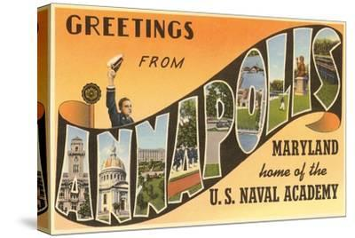 Greetings from Annapolis, Maryland
