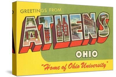 Greetings from Athens, Ohio