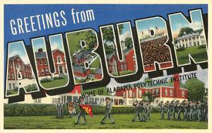 Greetings from Auburn, Alabama
