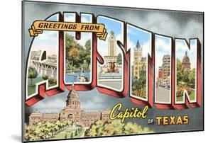 Greetings from Austin, Capitol of Texas