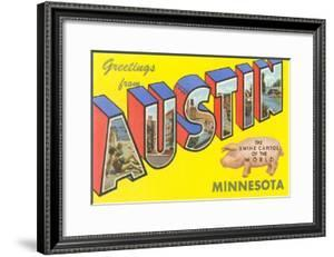 Greetings from Austin, Minnesota