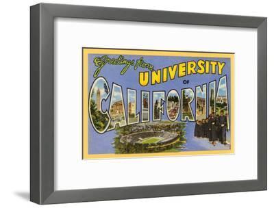 Greetings from Berkeley, California