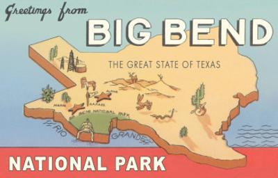 Greetings from Big Bend National Park