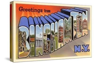 Greetings from Binghamton, New York