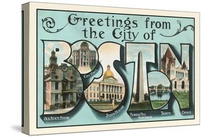 Greetings from Boston, Massachusetts