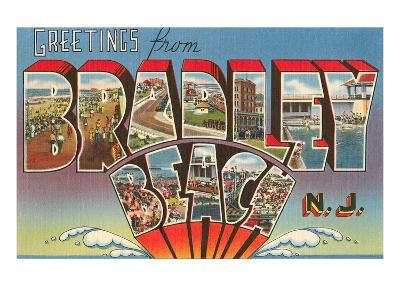 Greetings from Bradley Beach, New Jersey--Art Print