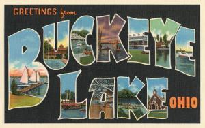 Greetings from Buckeye Lake, Ohio