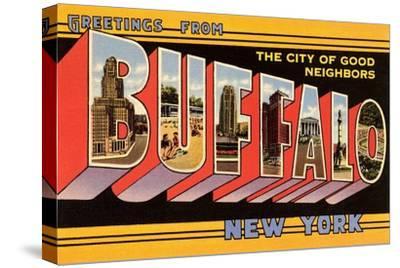 Greetings from Buffalo, New York