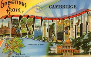 Greetings from Cambridge, Massachusetts