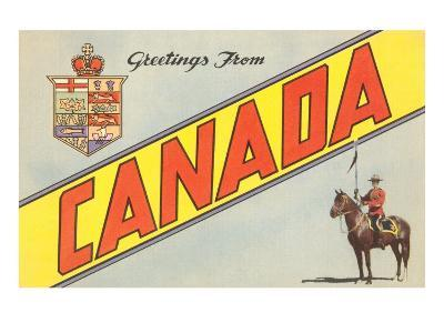 Greetings from Canada--Art Print
