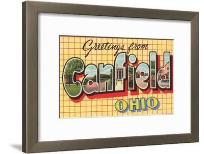 Greetings from Canfield, Ohio