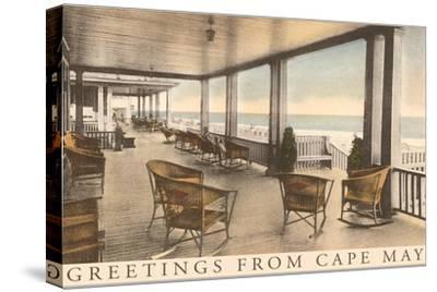 Greetings from Cape May, New Jersey, Veranda