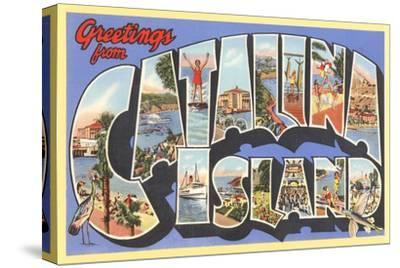 Greetings from Catalina Island, California