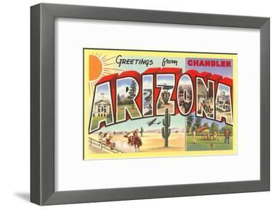 Greetings from Chandler, Arizona