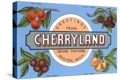 Greetings from Cherryland, Grand Traverse, Michigan