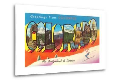 Greetings from Colorful Colorado, the Switzerland of America