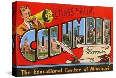 Greetings from Columbia, Missouri