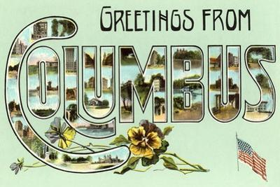 Greetings from Columbus