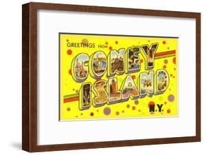 Coney island artwork for sale framed art and prints at art greetings from coney island new york m4hsunfo