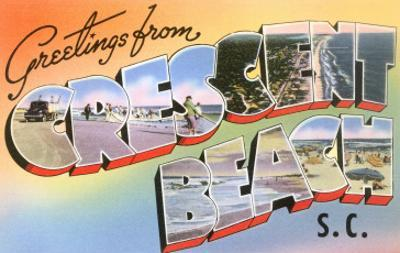 Greetings from Crescent Beach, South Carolina