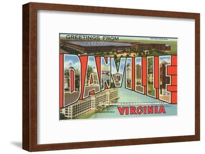 Greetings from Danville, Virginia