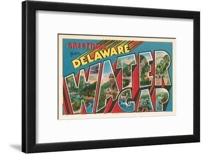 Greetings from Delaware, Water Gap, Pennsylvania
