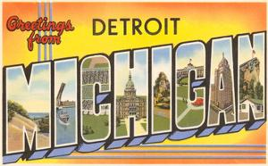 Beautiful greetings from michigan artwork for sale posters and greetings from detroit michigan m4hsunfo