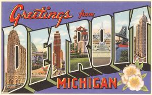 Greetings from Detroit, Michigan