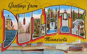 Greetings from Duluth, Minnesota