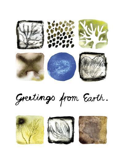 Greetings from Earth-Kirsi Sundell-Art Print