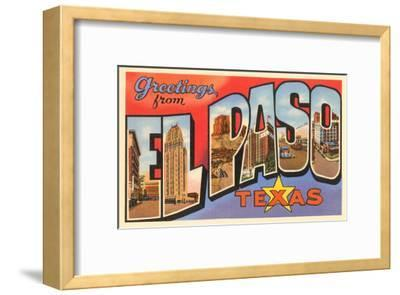 Greetings from El Paso, Texas