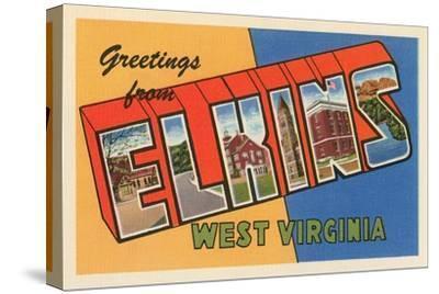 Greetings from Elkins, West Virginia