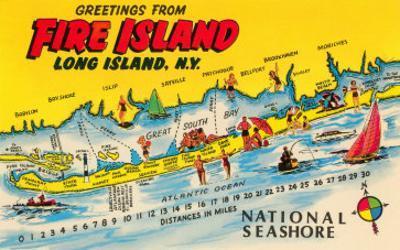 Greetings from Fire Island, Long Island, New York