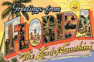 Greetings from Florida, Land of Sunshine
