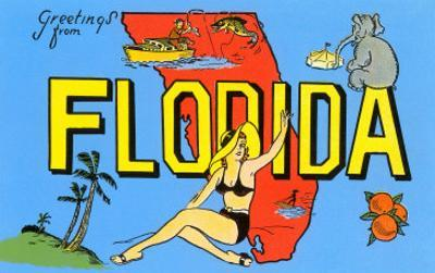 Greetings from Florida, Map