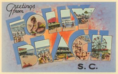 Greetings from Folly Beach, South Carolina