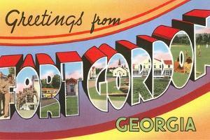 Greetings from Fort Gordon, Georgia