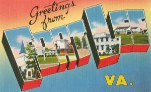 Greetings from Fort Lee, Virginia