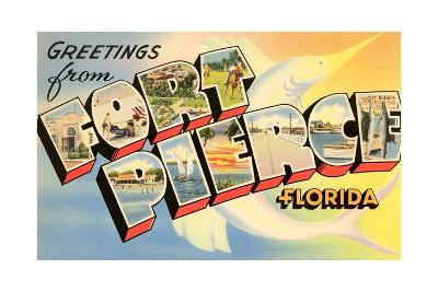 Greetings from Fort Pierce, Florida--Giclee Print