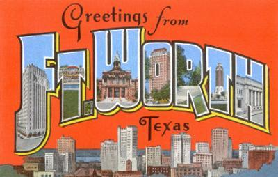 Greetings from Fort Worth, Texas