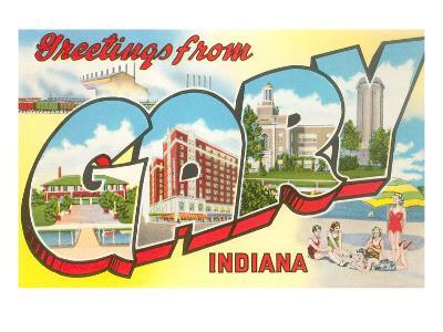 Greetings from Gary, Indiana--Art Print