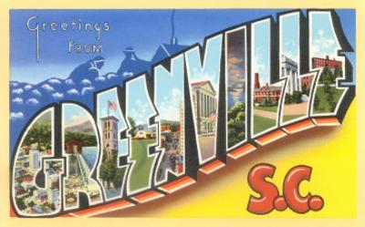 Greetings from Greenville, South Carolina